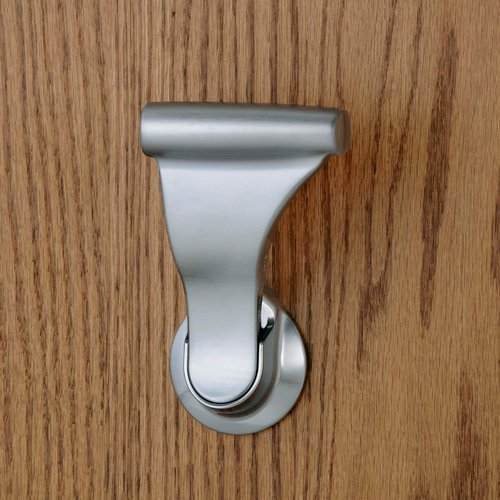 Soss Closet UltraLatch for 1-3/4 inch and 2 inch Door Satin Chrome LCL-26D