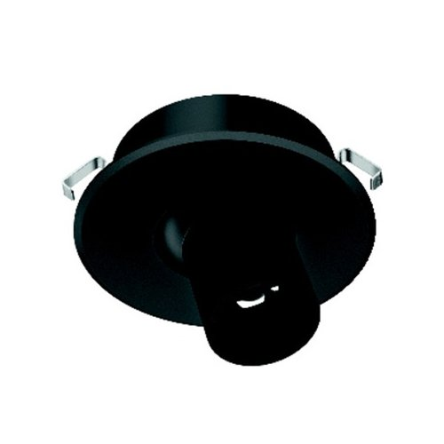 Hafele Loox 4012 350-mA LED Black Spotlight Daylight White 833.78.093