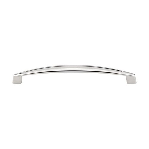 Top Knobs Appliance Pull 12 Inch Center to Center Polished Nickel Appliance Pull TK147PN
