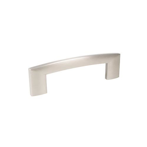 Century Hardware Villon 4 Inch Center to Center Dull Satin Nickel Cabinet Pull 24467-DSN