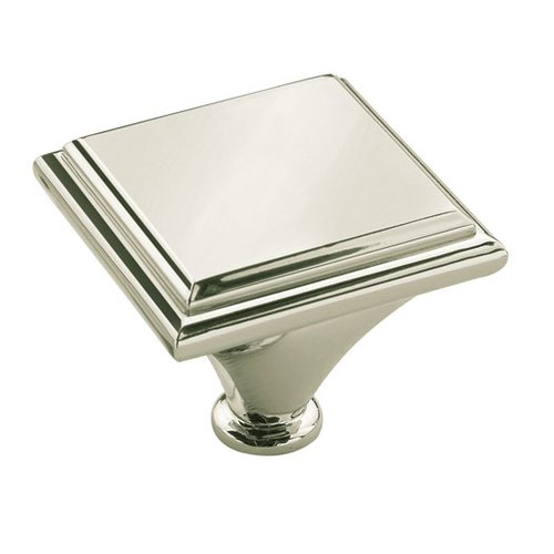 Manor 1-7/16 Inch Diameter Polished Nickel Cabinet Knob <small>(#BP261392PN)</small>