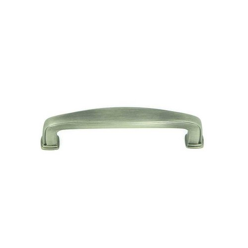 Stone Mill Hardware Milan 3-3/4 Inch Center to Center Weathered Nickel Cabinet Pull CP81092-WEN