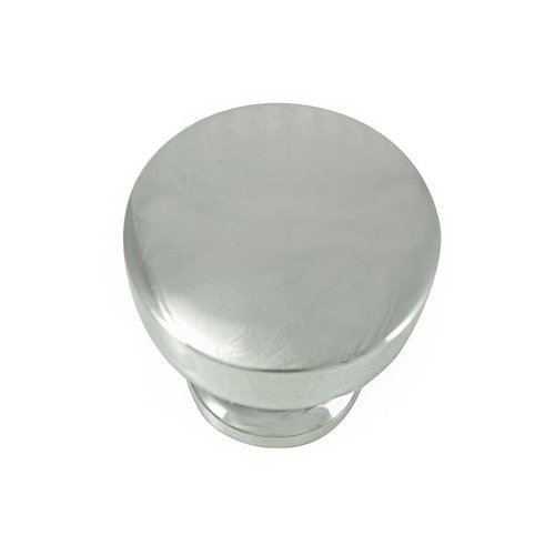 MNG Hardware Precision 1-1/4 Inch Diameter Polished Nickel Cabinet Knob 85414