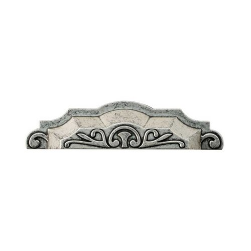 Liberty Hardware Augustine 4 Inch Center to Center Silver Hammered Cabinet Cup Pull P28118-SIH-C