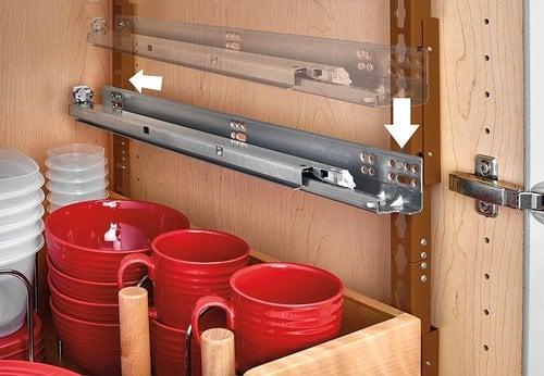 Rev-A-Shelf Standard Drawer for 24 inch Cabinet with Blum Slides 4WDB4-PIL-24SC-1