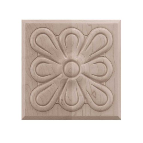 Medium Fleur Tile Unfinished Hard Maple <small>(#01902515HM1)</small>