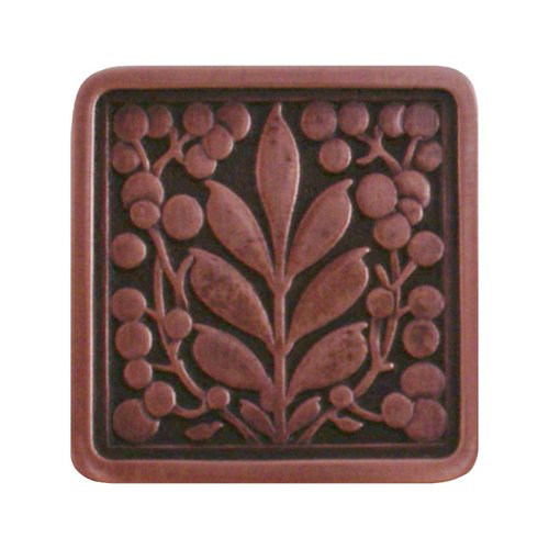 English Garden 1-3/8 Inch Diameter Antique Copper Cabinet Knob <small>(#NHK-179-AC)</small>
