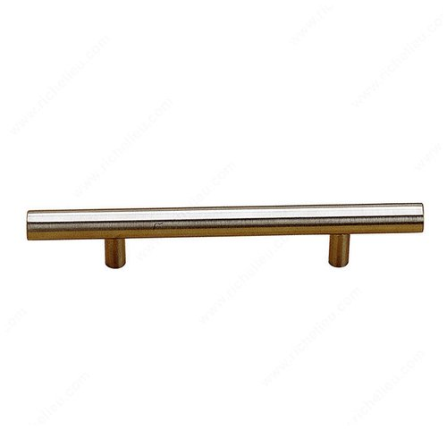 Richelieu Bar Pulls 10-1/8 Inch Center to Center Stainless Steel Cabinet Pull BP3487257170