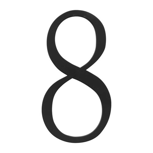 Traditionalist House Number Eight Black <small>(#TRN8-BL)</small>