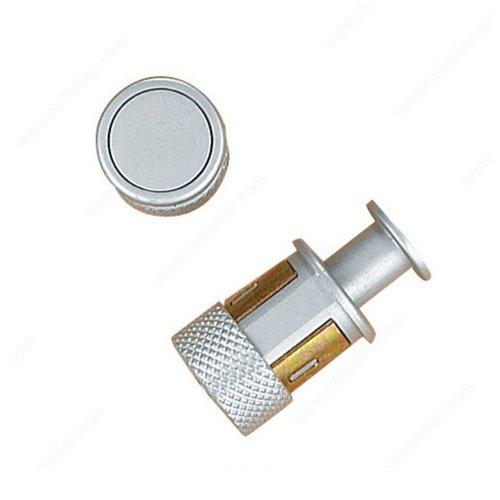 Richelieu Recession 1 Inch Diameter Matte Chrome Cabinet Knob 61642732174