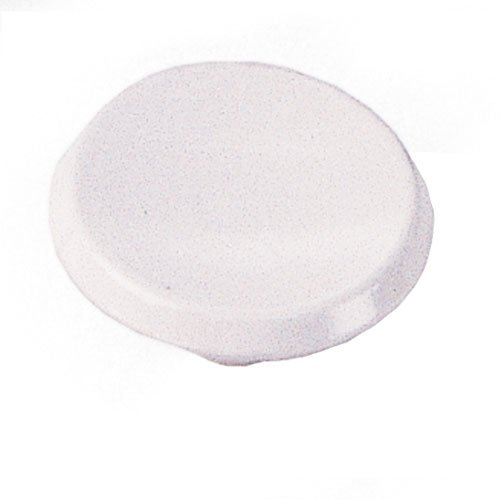 Modern Standards 1-1/2 Inch Diameter White Epoxy Cabinet Knob <small>(#20242)</small>
