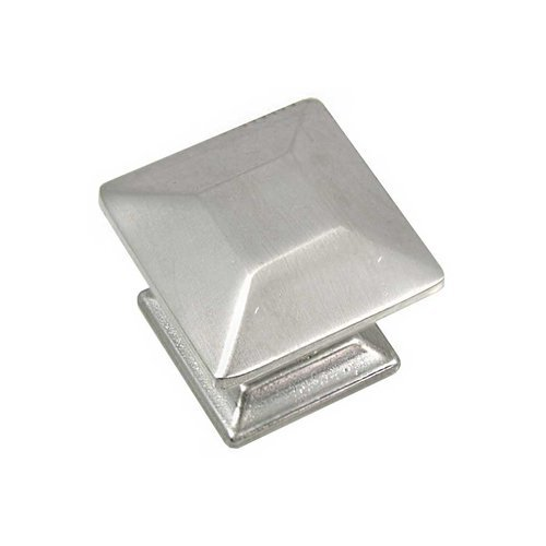 Poise 1 Inch Diameter Satin Nickel Cabinet Knob <small>(#83528)</small>