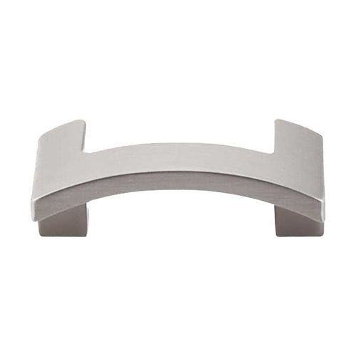 Top Knobs Sanctuary II 1-3/4 Inch Center to Center Brushed Satin Nickel Cabinet Pull TK248BSN