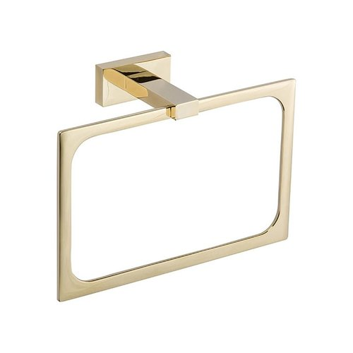 "Atlas Homewares Axel Towel Ring 8"" French Gold AXTR-FG"