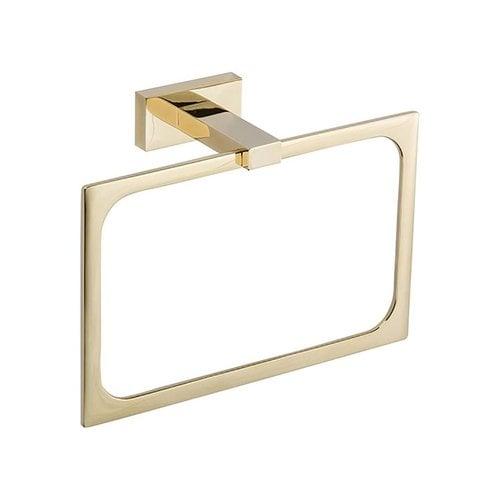 Atlas Homewares Axel Towel Ring 8 inch French Gold AXTR-FG