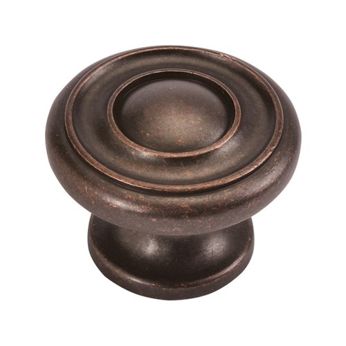 Hickory Hardware Cottage 1-1/2 Inch Diameter Dark Antique Copper Cabinet Knob P3501-DAC
