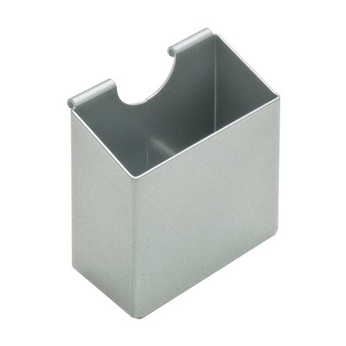 "Omni Track Upright Tray 3-1/2"" X 3-1/4"" Silver <small>(#818.83.940)</small>"