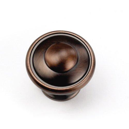 Laurey Hardware Windsor 1-1/8 Inch Diameter Venetian Bronze Cabinet Knob 24177