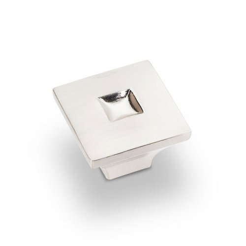 Jeffrey Alexander Modena 1-3/16 Inch Diameter Satin Nickel Cabinet Knob 910SN