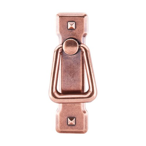 Top Knobs Chateau 2-1/4 Inch Center to Center Old English Copper Cabinet Ring Pull M241