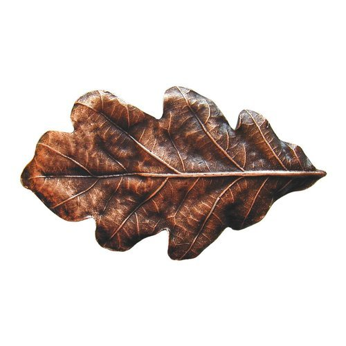 Notting Hill Leaves 2-1/4 Inch Diameter Antique Copper Cabinet Knob NHK-144-AC