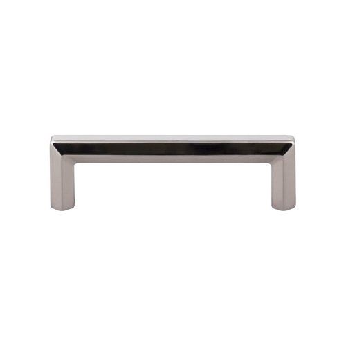 Top Knobs Serene 3-3/4 Inch Center to Center Polished Nickel Cabinet Pull TK793PN