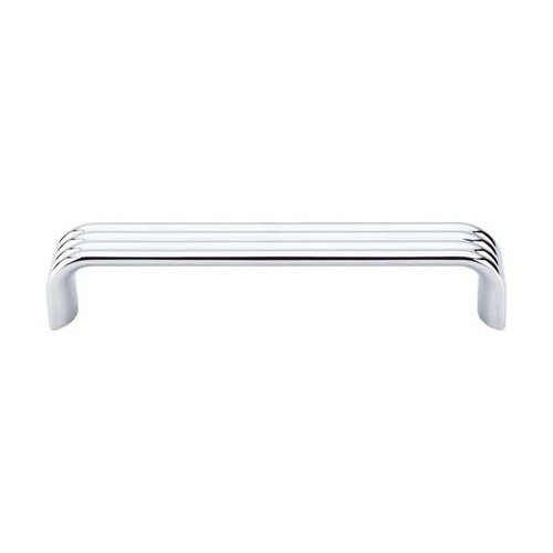 Top Knobs Sanctuary II 5 Inch Center to Center Polished Chrome Cabinet Pull TK263PC