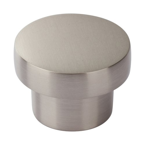 "Chunky Knobs 1"" Dia Brushed Nickel <small>(#A912-BN)</small>"