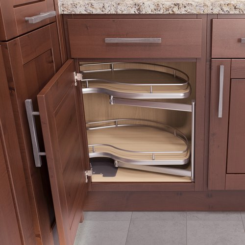 """Vauth Sagel Twin Corner 1 Blind Corner Pull-Out 39"""" W - Right Hand 9000 2410"""