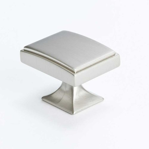 Hearthstone 1-9/16 Inch Diameter Brushed Nickel Cabinet Knob <small>(#4083-1BPN-P)</small>