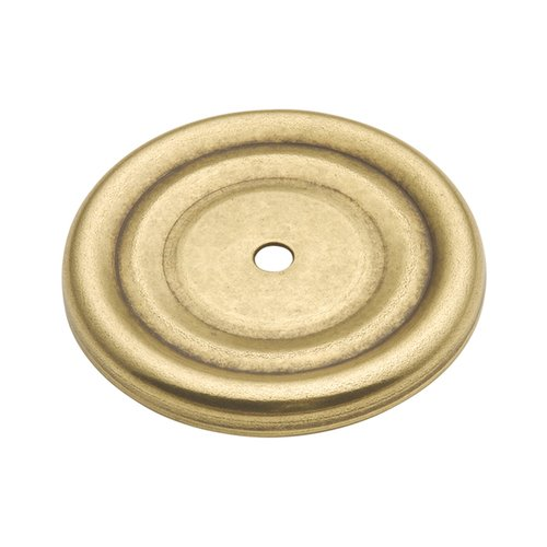 Hickory Hardware Manor House 1-7/8 Inch Diameter Lancaster Hand Polished Back-plate P282-LP