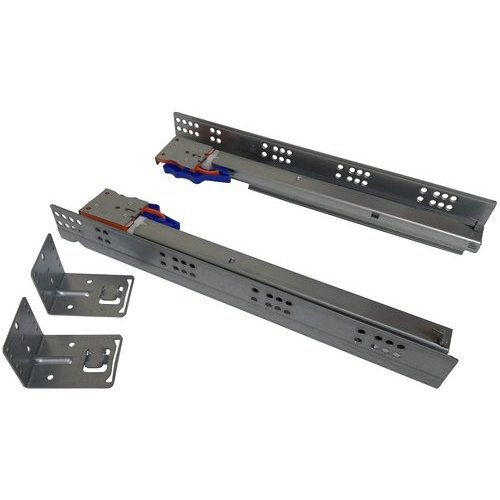 "CabinetParts Value Line 12"" Soft Close Undermount Drawer Slide W/Std. Locking Devices VLS-U12-SC"