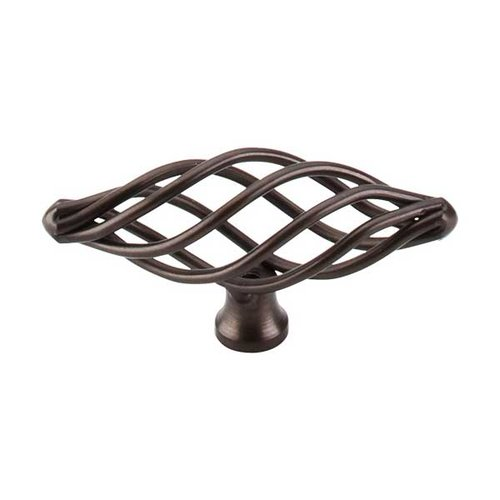 Top Knobs Normandy 3 Inch Length Oil Rubbed Bronze Cabinet Knob M779