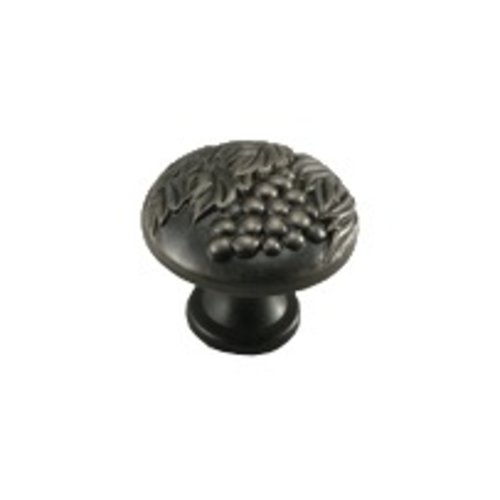 Vineyard 1-3/8 Inch Diameter Antique Nickel Cabinet Knob <small>(#19427-AN)</small>