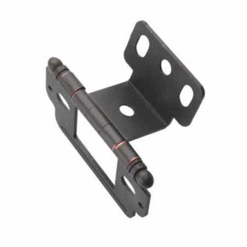 Amerock Full Inset Ball Tip Hinge- Oil Rubbed Bronze Sold Each PK3180TBORB