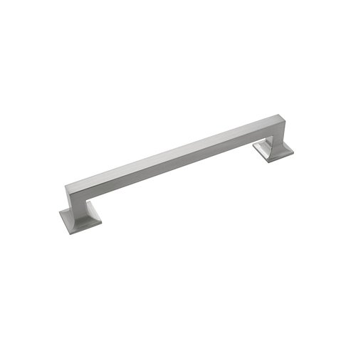"Hickory Hardware Studio Pull 7-9/16"" C/C Satin Nickel P3019-SN"