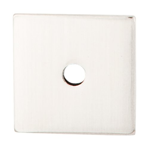 Sanctuary 2-5/8 Inch Length Brushed Satin Nickel Back-plate <small>(#TK94BSN)</small>