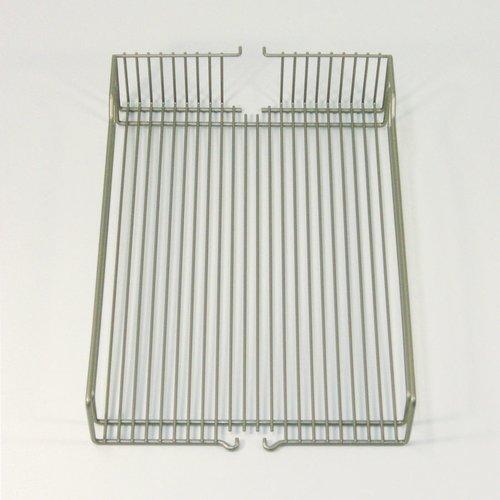 "Kessebohmer Wire Basket Set (2) 13-3/8"" D Champagne 546.17.457"