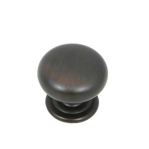 Stone Mill Hardware Princeton 1-1/4 Inch Diameter Oil Rubbed Bronze Cabinet Knob CP82980-OB