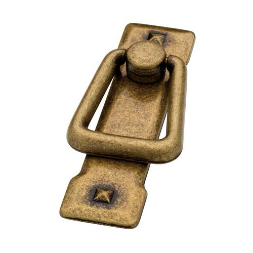 Liberty Hardware Mission 2-1/4 Inch Center to Center Antique Brass Cabinet Bail Pull 62077AB
