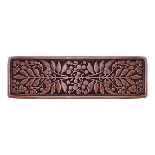 Notting Hill English Garden 3 Inch Center to Center Antique Copper Cabinet Pull NHP-679-AC