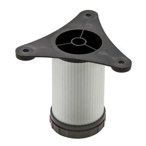"Hafele Omni Track Adjustable Foot Leveler 3.5"" H Matte Aluminum 792.01.080"
