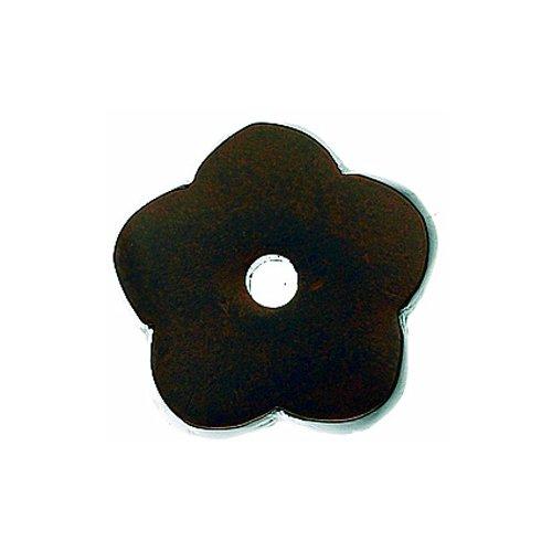 Top Knobs Aspen 1 Inch Diameter Mahogany Bronze Back-plate M1428