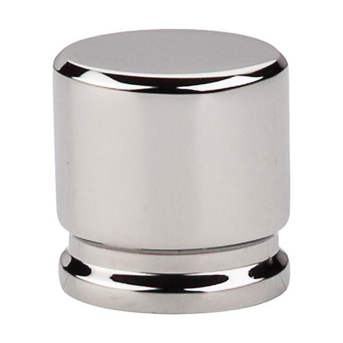 Top Knobs Sanctuary 1-1/8 Inch Length Polished Nickel Cabinet Knob TK59PN