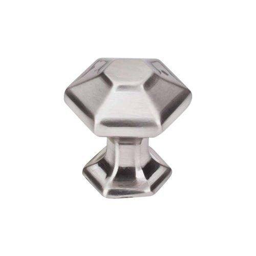 Top Knobs Transcend 1 Inch Diameter Brushed Satin Nickel Cabinet Knob TK711BSN