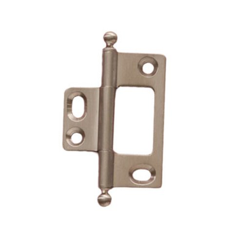 Elite Non-Mortised Butt Hinge 50X37mm - Brushed Nickel <small>(#351.95.682)</small>