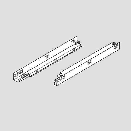 Blum Tandem 569F Soft Close 21 inch Slide with Standard Locking Devices 569F5330B