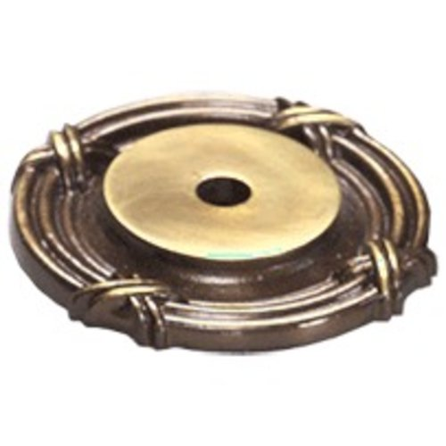 Schaub and Company Versailles Forged Solid Brass 1-1/2 Inch Diameter Antique Light Polish Back-plate 756-ALP
