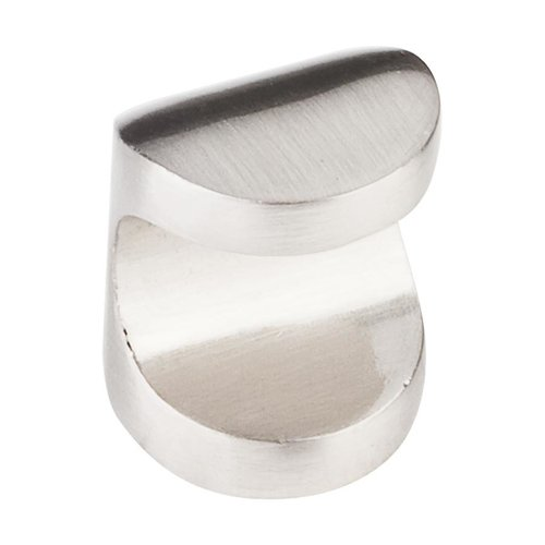 Elements by Hardware Resources Capri 1 Inch Diameter Satin Nickel Cabinet Knob 530142