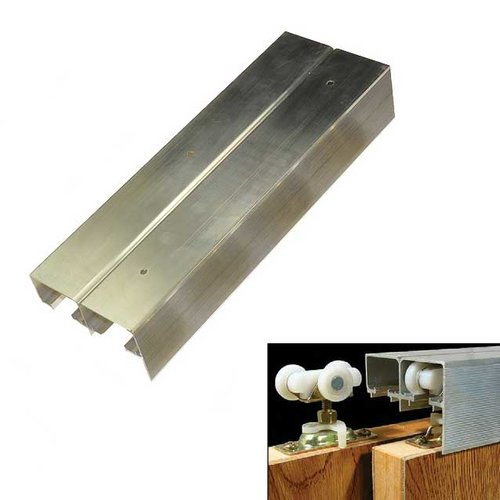 "Johnson Hardware 134F Series Bypass Track 60"" 134F-060"